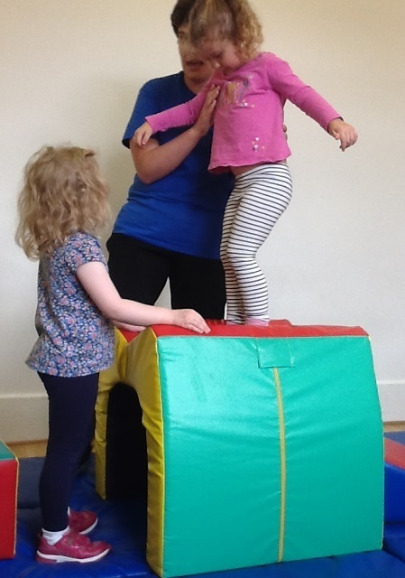 The children have been having lots of fun with the soft play in our soft play room.