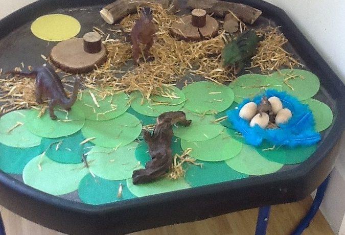 Preschool Dinosaur land!