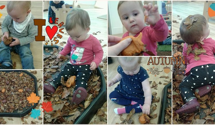 Autumn fun in the baby room!
