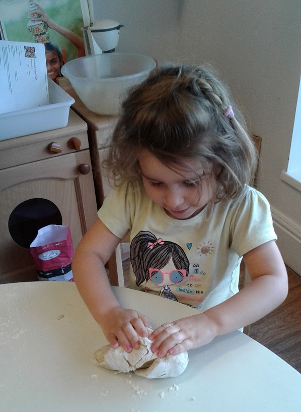 Pre-school two gave our cook a run for her money today and had a great time making their very own pizzas!