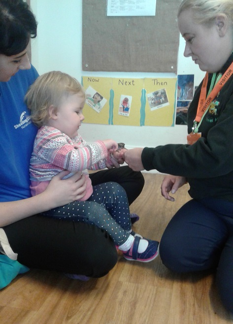 Stourbridge Nursery have had a visit from the animal lady to celebrate Halloween.