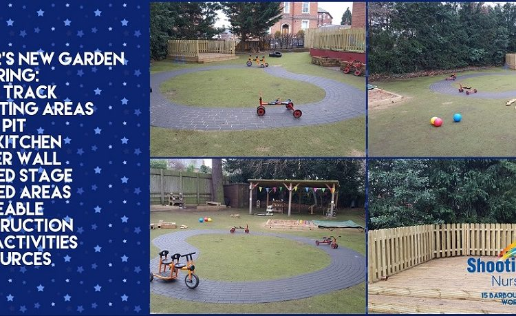 New Garden – Let's Play Outside!