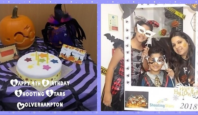 Nursery celebrates 4th Birthday in Spooky Halloween Style