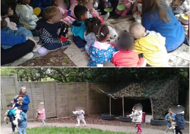Wolverhampton – Toddlers Go on a Bear Hunt