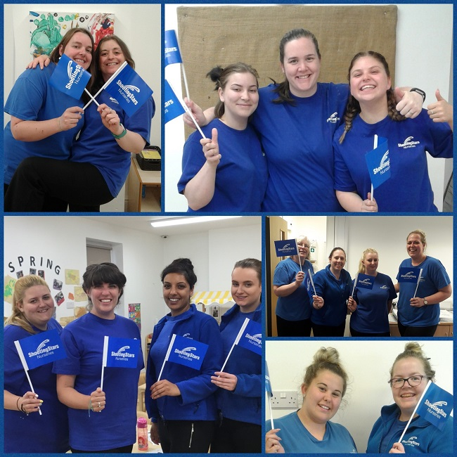 Shooting Stars named in Top 20 Daynurseries awards for second year running.