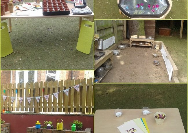 Worcester – Preschool host gardening stay and play