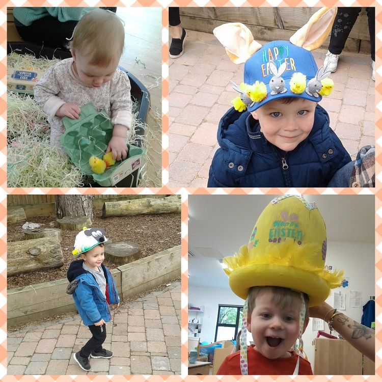 Yesterday we held our very own Easter themed morning at nursery.