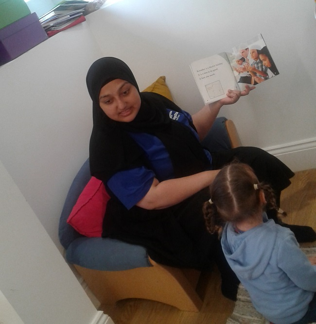 The children have enjoyed learning about the meaning of Eid.