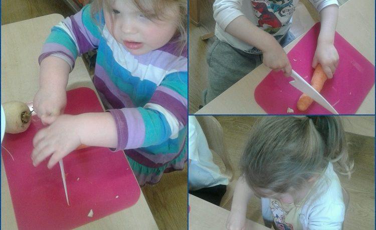 Bromsgrove – Preschool help to prepare soup