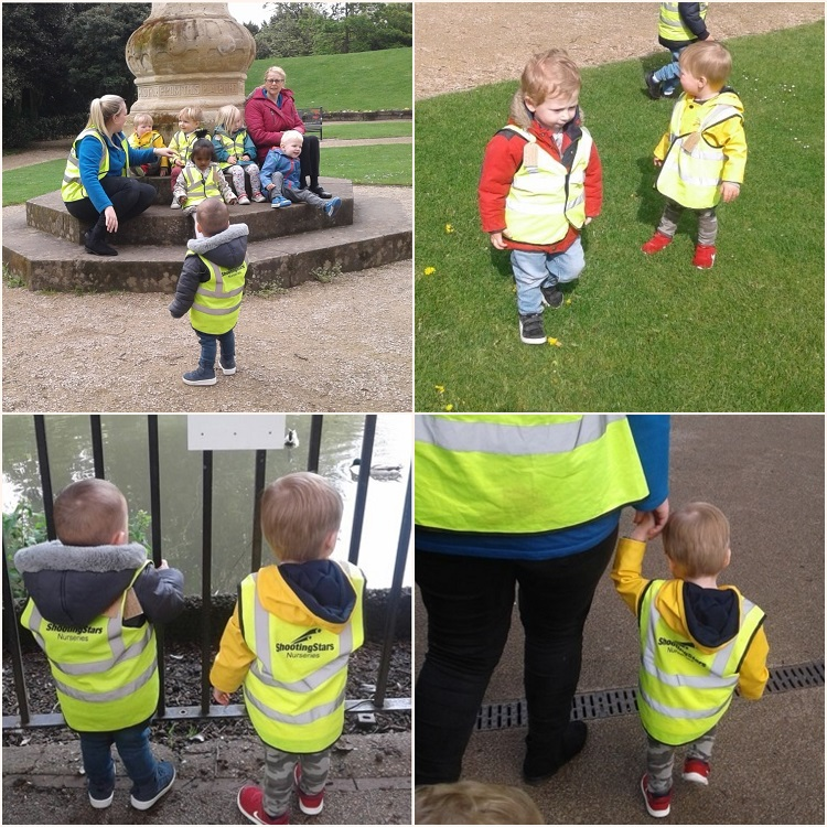 Today the toddlers completed their sponsored walk around the Argents Mead! This was to raise money for our chosen charity TOFS.