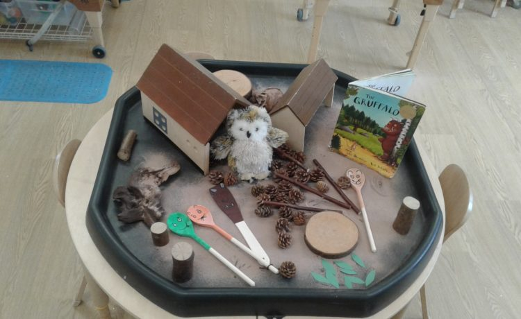 Worcester – Recreating the gruffalo story