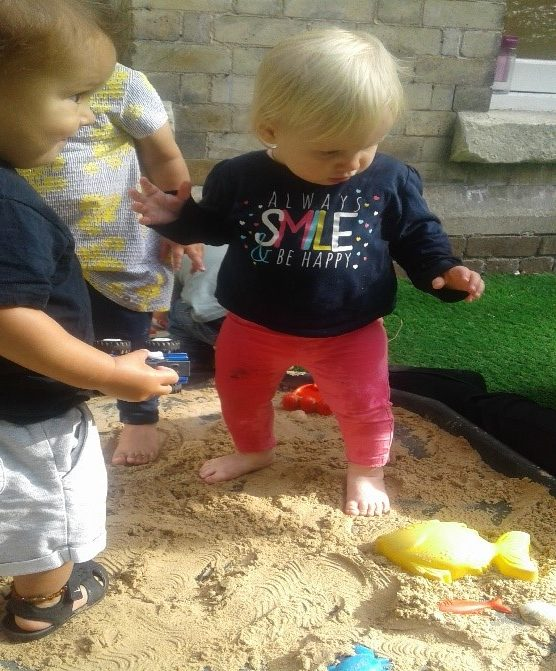 The children have recently shown an interest in the seaside, as many children have either been on holiday or are preparing for their holiday.