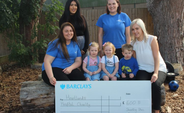 Bromsgrove – Fundraising for Heartlands Hospital Charity