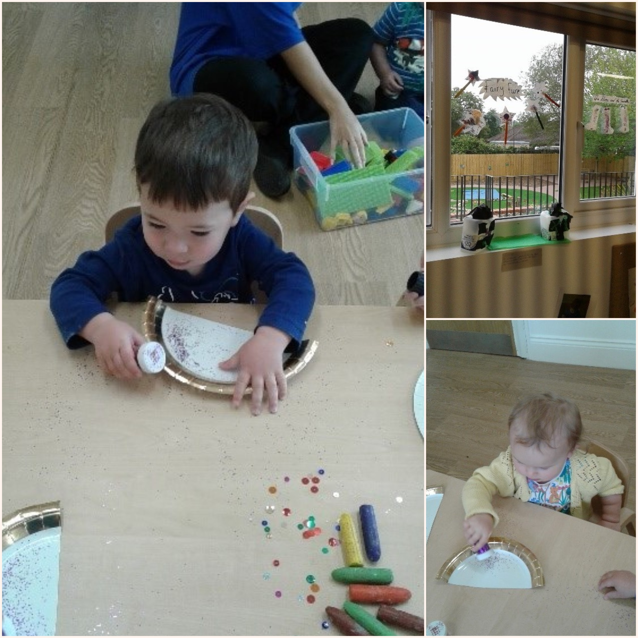 The children in Pre-Toddler room have been enjoying fairy tales including