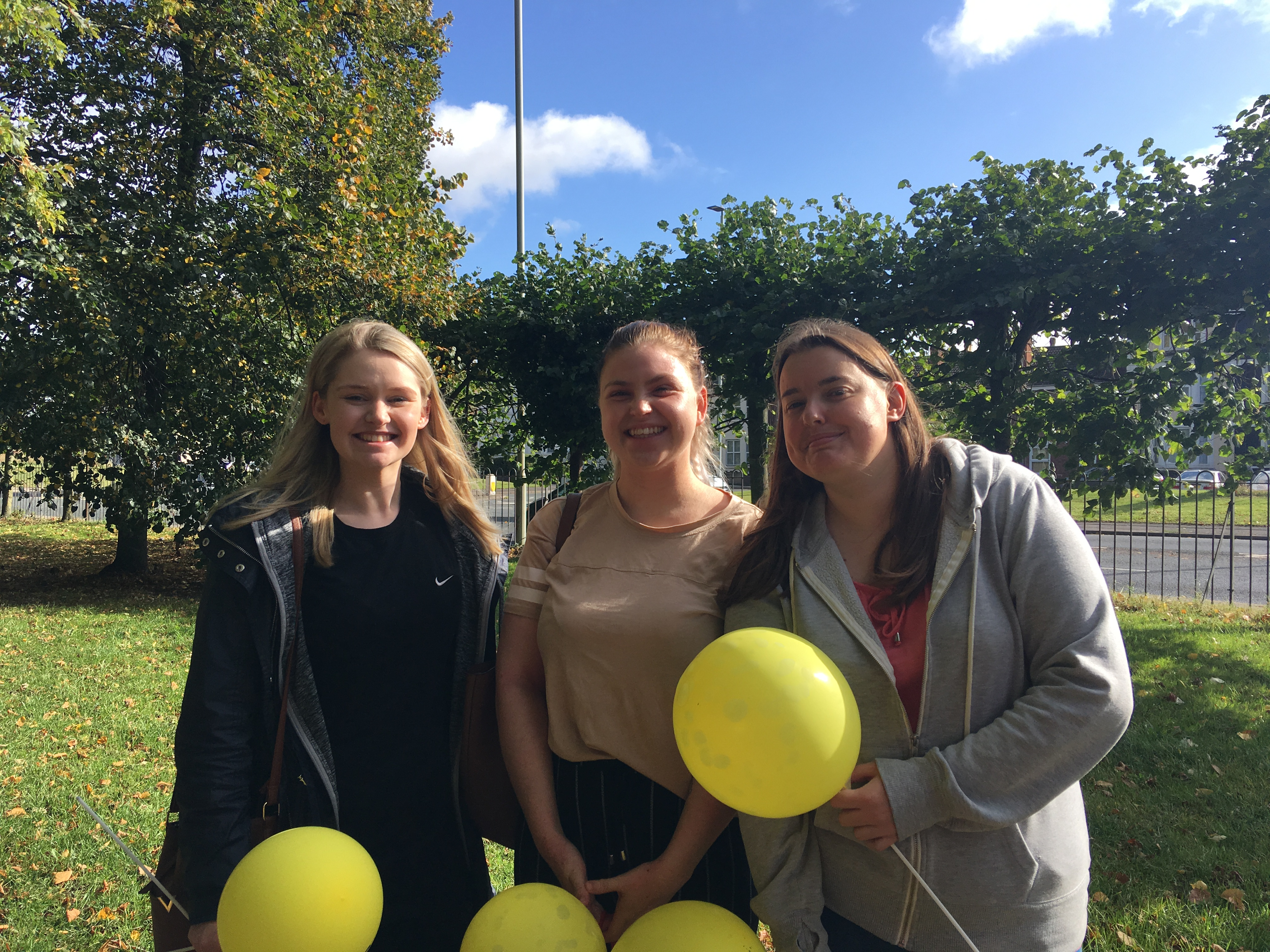 Gloucester nursery embraced the fresh air and enjoyed a lovely walk raising awareness and funds for Winstons Wish.