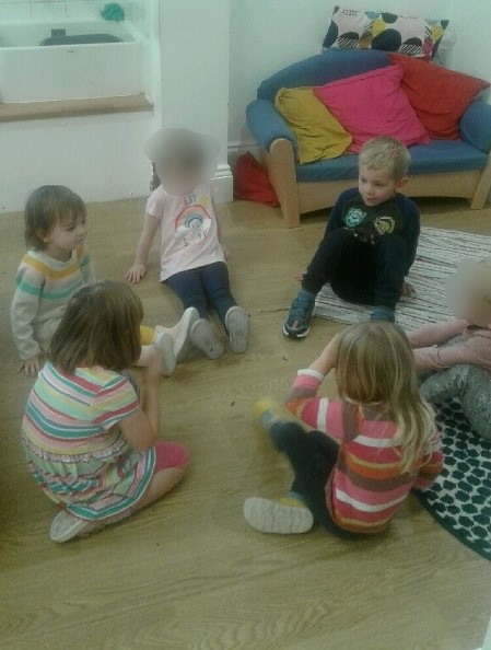 During September Pre-school have welcomed lots of new children, so we decided to focus on making relationships, the importance of friendship, working together and helping each other.