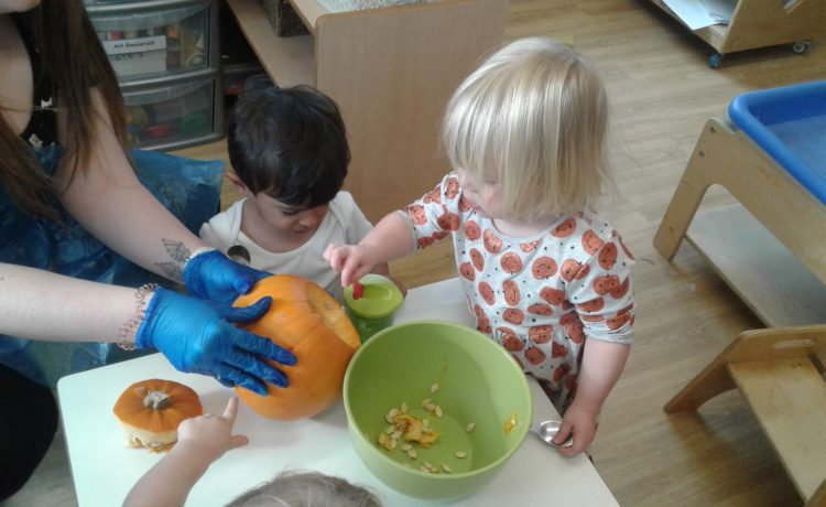 Gloucester – Pre-Toddlers Halloween Party!