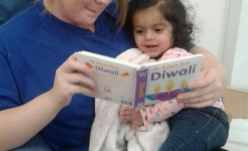 We have celebrated Diwali in the Baby room this week.