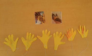 At Worcester preschool we have been celebrating Diwali, the festival of light.