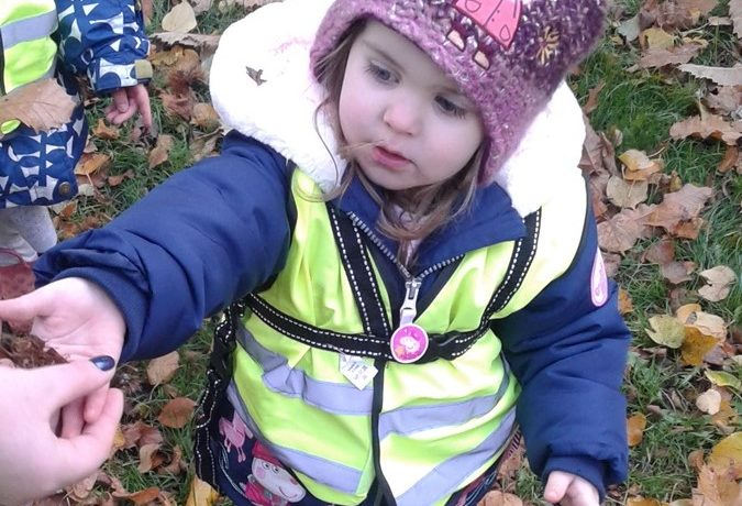 Stourbridge – Toddlers & Pre-School Take an Autumn Walk