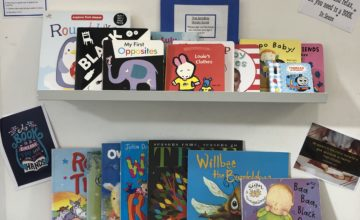At Bromsgrove we have just introduced a lending library for our families.
