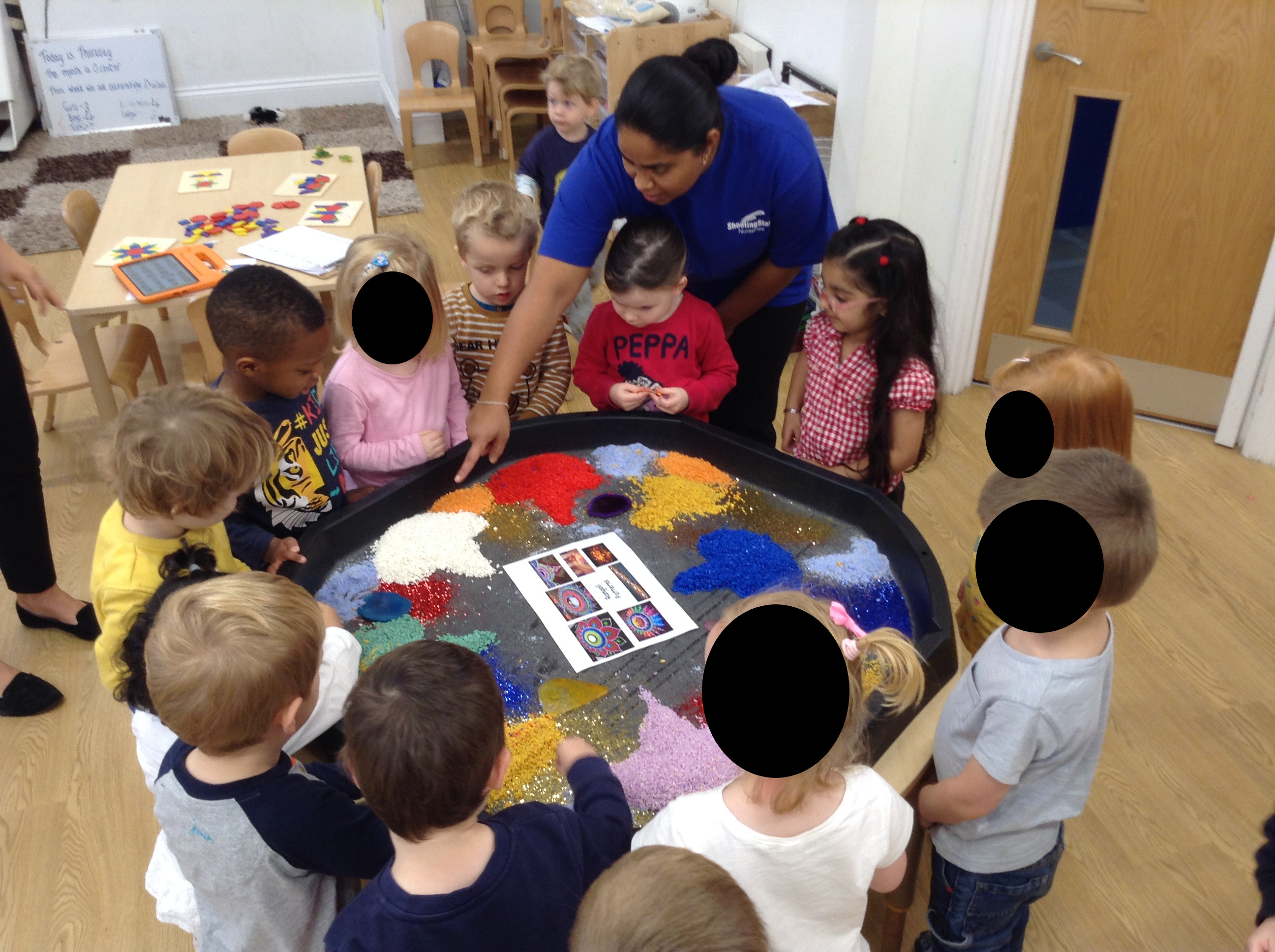 Pre-School have been learning about Diwali, the festival of light.