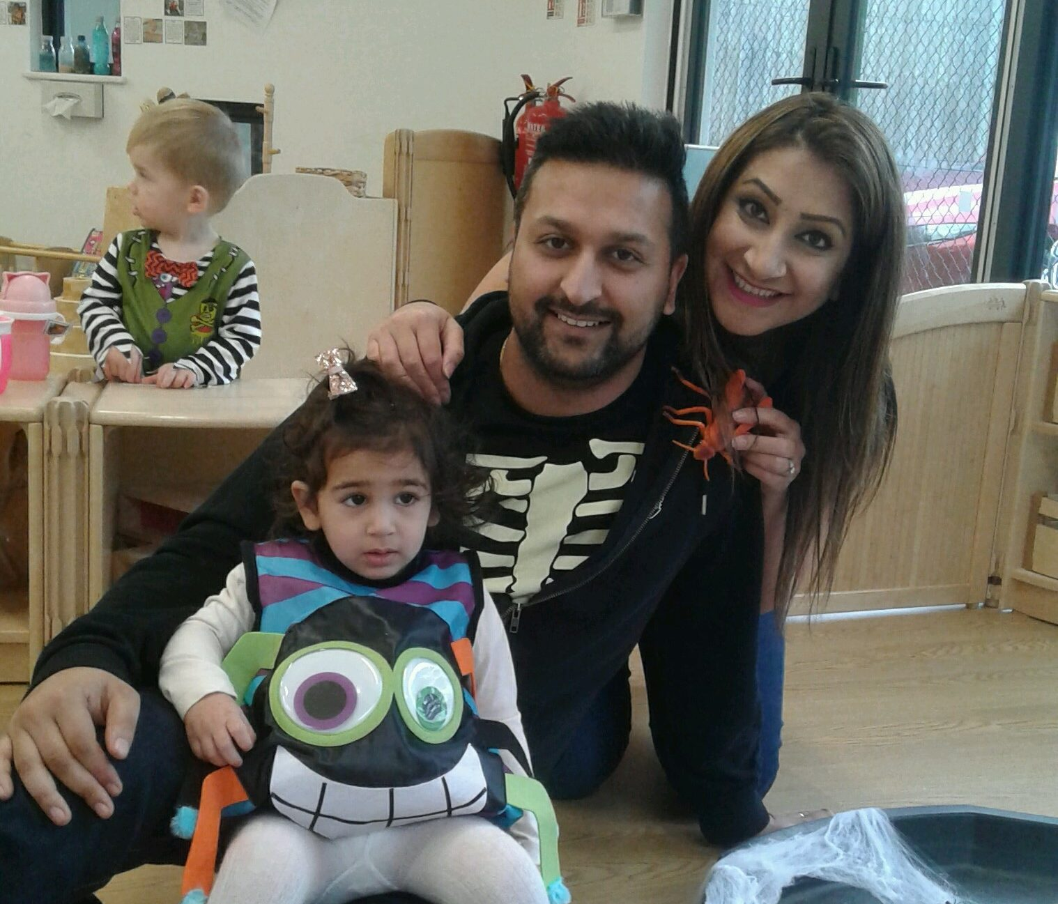 What freaky fun we had at our Pre-toddler stay & play last week!