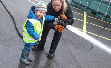 This week Pre-School 1 enjoyed a fantastic trip to the fire station.