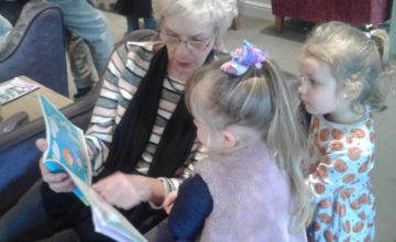 The children from Pre-school 2 have been to visit the residents of the local residential home. They were very excited to be going on an outing and show their Halloween costumes.