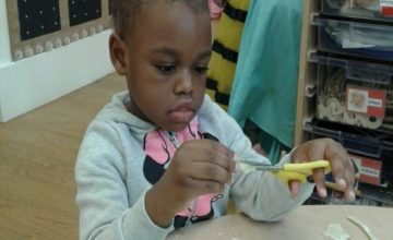 Wolverhampton – Pre-School Cutting Practice