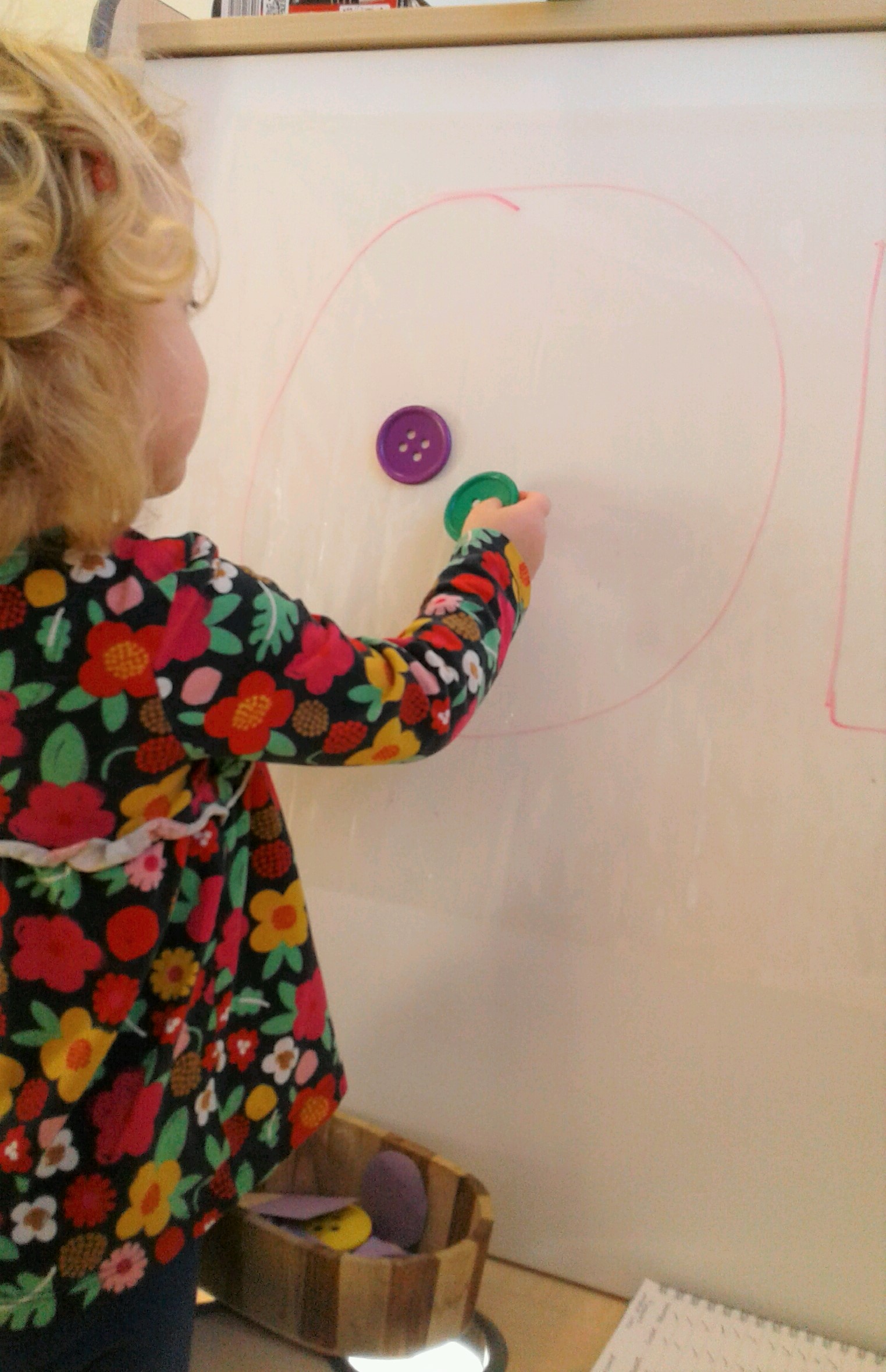 Pre-school have recently been exploring shapes!
