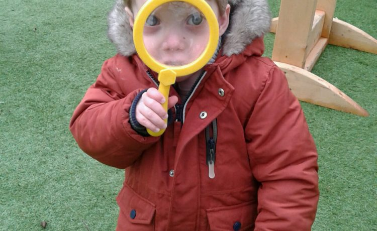 Hinckley – Toddlers On A Bug Hunt