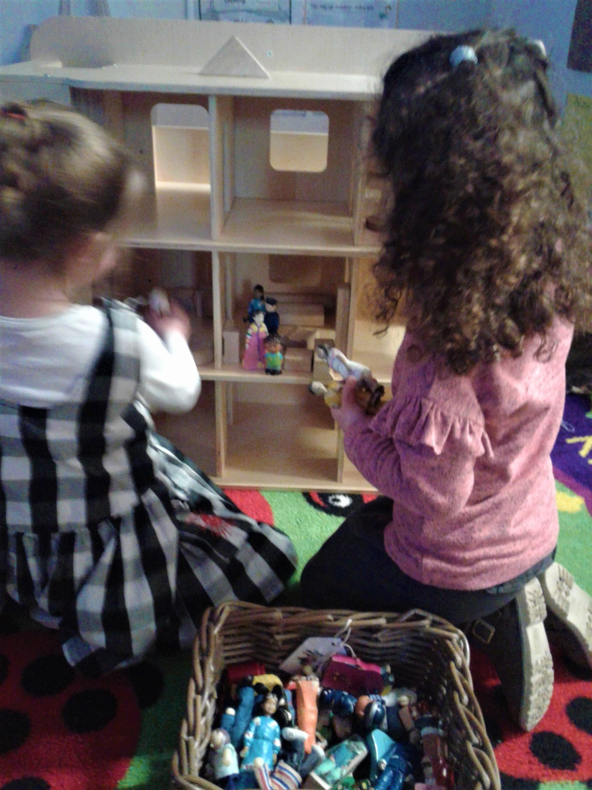 Its been an exciting week in Pre-school 2 as we've had some new toys to investigate!