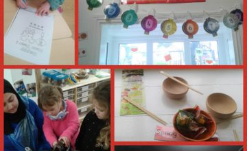 Pre-school have been learning all about and celebrating Chinese New Year.