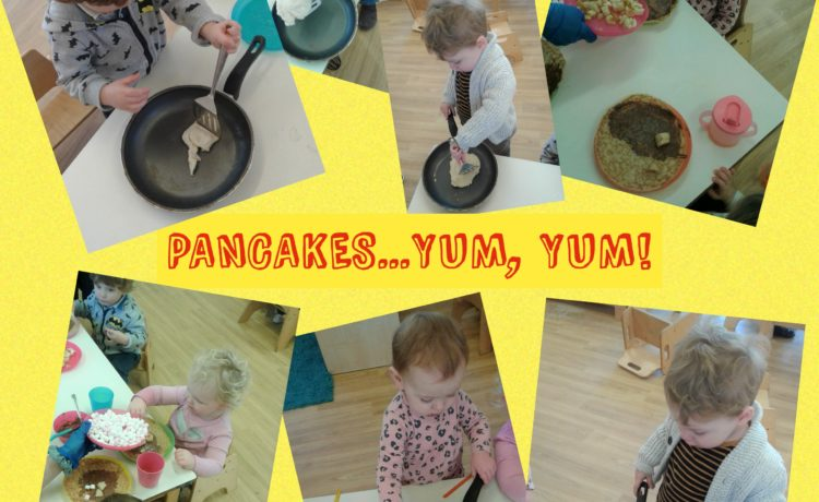 Hinckley – Toddlers Celebrate Pancake Day!