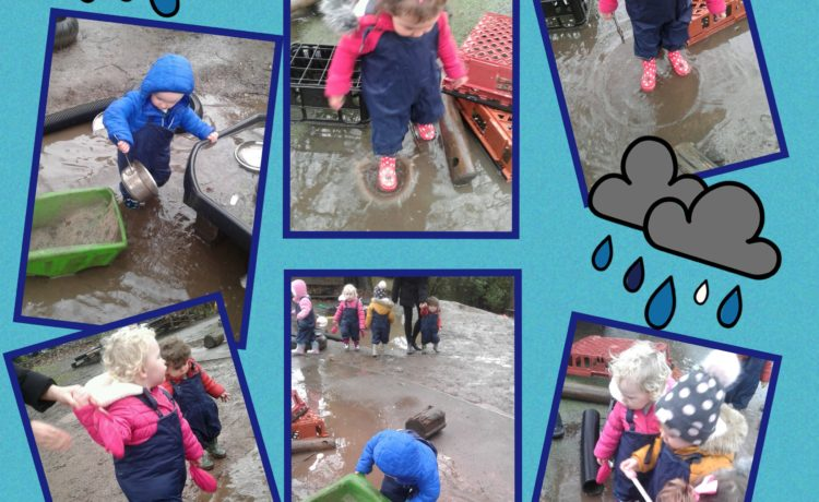 Hinckley – Toddlers Splashing In Muddy Puddles!
