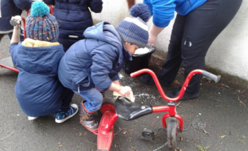 Wolverhampton – Pre-School Car Wash!