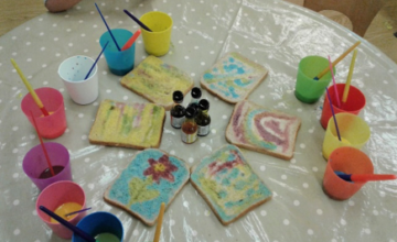 Wolverhampton – Pre-School Create Edible Art