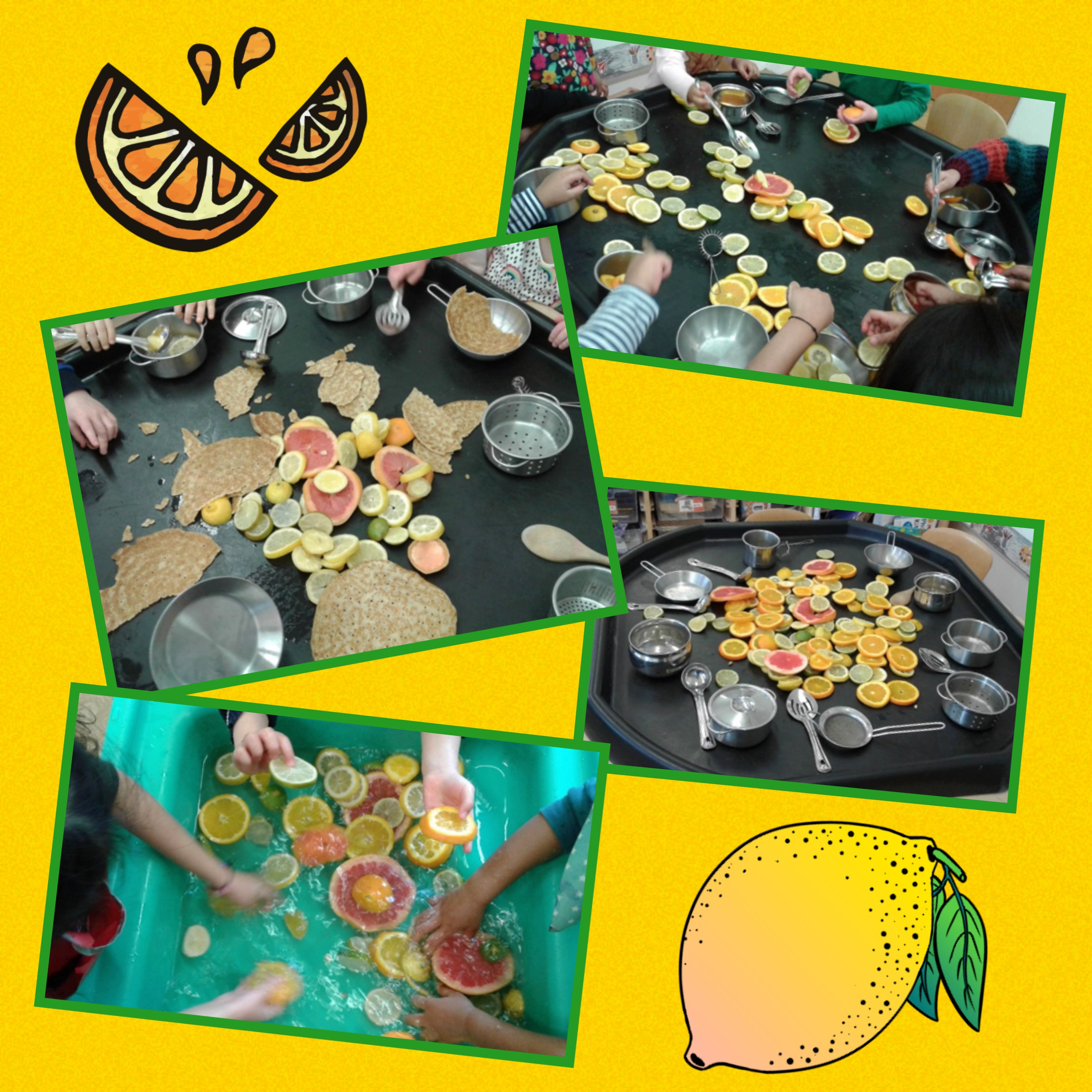 As part of our Shrove Tuesday & Pancake Day celebrations, Pre-school have been exploring citrus fruits.