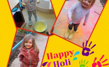 Today everyone at Stourbridge has taken part in celebrating the Hindu festival of Holi.