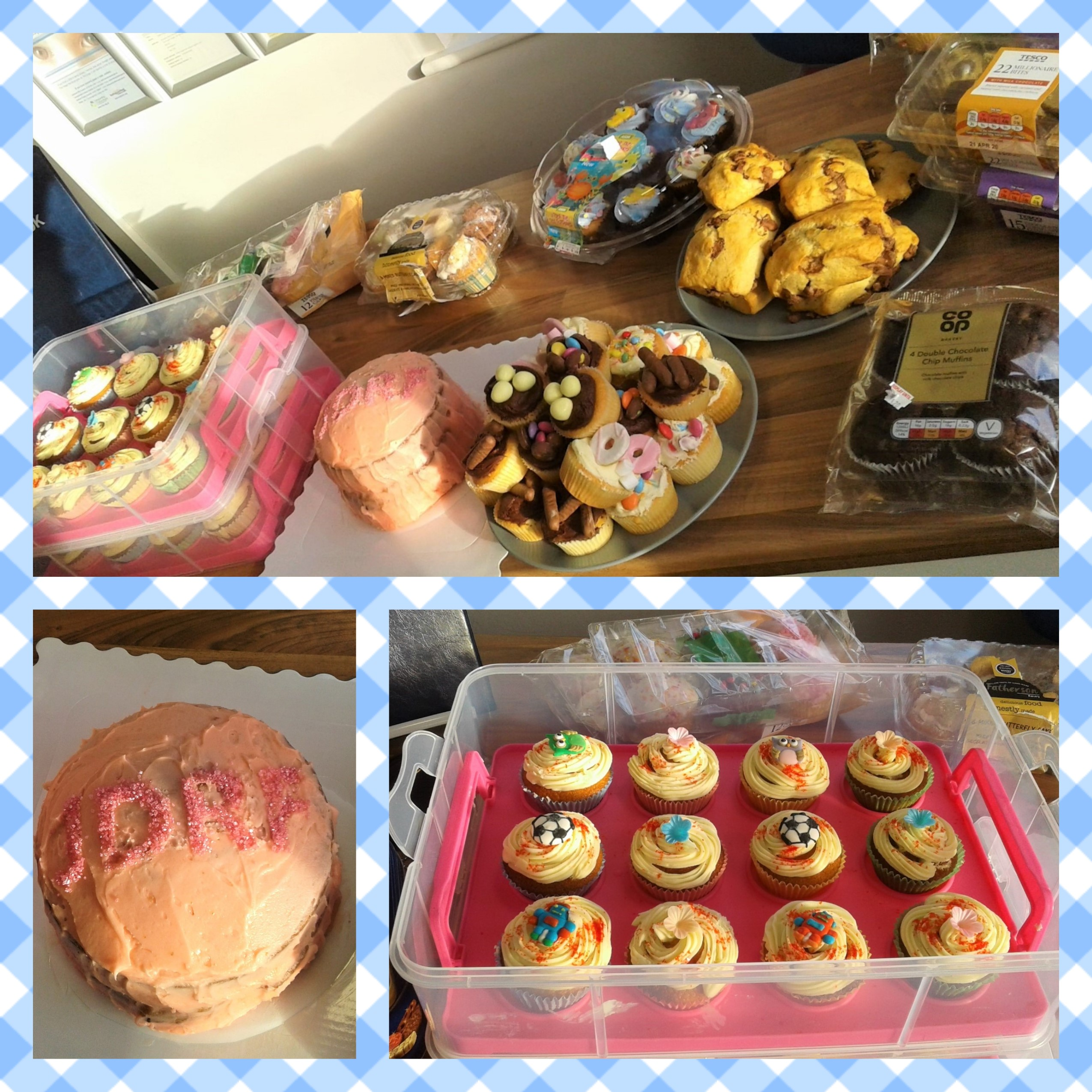 A big thank you to all our parents and staff for getting involved in our charity cake sale.