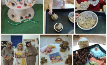 We have been bringing different books to life in the Baby room all week to celebrate World Book Day!