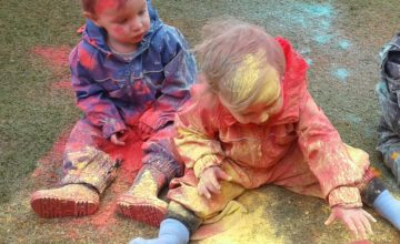 Worcester Nursery had great fun & wished everyone a happy Holi yesterday!