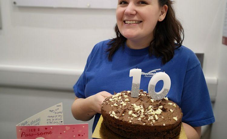 Bromsgrove – Helen 10 Year Anniversary At Shooting Stars!