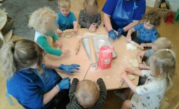 This week we really enjoyed making our own pizzas!