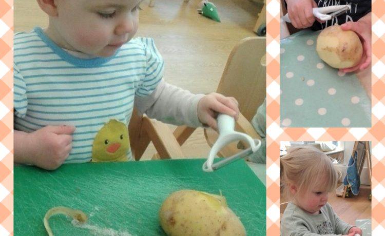 Wolverhampton – Potato Peeling!