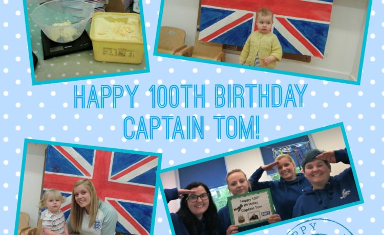 Wolverhampton – Happy 100th Birthday Captain Tom!
