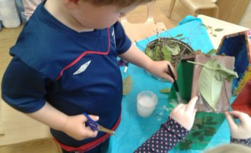 At Stourbridge nursery the children have been busy making some fairy houses to add to our garden.