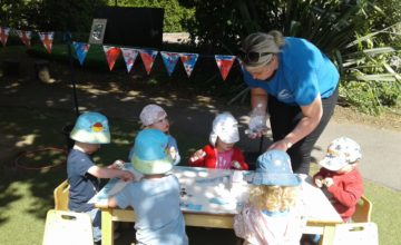 Today we enjoyed a wonderful tea party in our garden to celebrate VE day