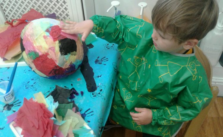 Stourbridge – Paper Mache Fun!